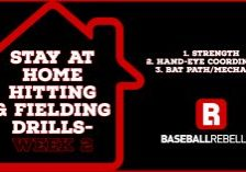 Stay at home hitting drills week 2