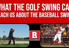 The Golf Swing vs The Baseball Swing