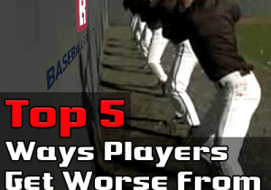 Top 5 Ways Baseball / Softball Players Get Worse from Team Practice