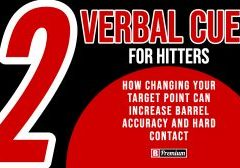 Two Verbal Cues For Hitters